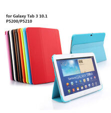 Tablet Leather Case Cover For Samsung Galaxy Tab 3 10.1 P5210 P5200 Smart Stand