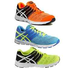 NEW Asics Gel Evation Running Shoes orange blue neon T42RQ 3001 0401 T539N 4807