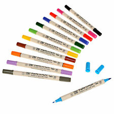 Zig TC4000 Fabricolor Twin Tip Fabric Marker Pen