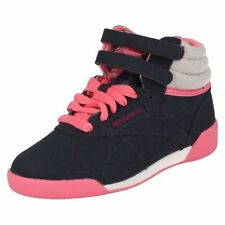 Girls Reebok Trainers 'Hi Cozy Craze' Coated Leather/Textile ~ K