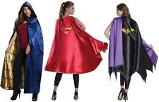 Wonder Woman Batgirl Supergirl Superhero Capes Cosplay Halloween Gal Gadot Adult