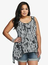 Alternative Tribal Skull Plus Size Tank Top | Gothic Punk Aztec Tunic Tee Shirt