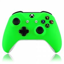 Microsoft Xbox One Wireless Controller Soft Touch Green Custom LED Mod