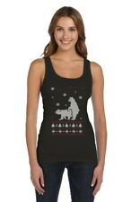 Humping Polar Bears Ugly Christmas Sweater Funny Women Tank Top Xmas