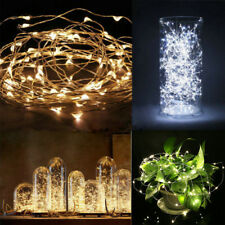 2-10M Battery Powered LED String Fairy Copper Wire Christmas Xmas Party Lights