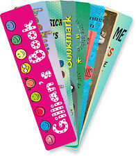 Personalised Childrens' Bookmarks - Birthday Christmas or Valentines presents