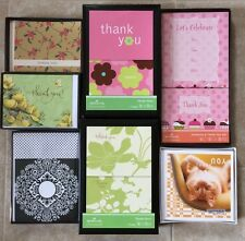 Boxed Hallmark Greeting Cards - Blank, Thank You, Invitations -Your Choice