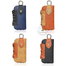 Classics Leather Waist Bag Wallet Case Cover Metal Insurance Button hook XNWCS