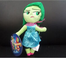 16cm Disney Inside Out Disgust Soft Doll Plush Bear Kids Child Baby Stuffed Toy