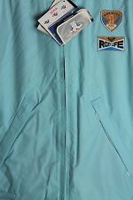 Quiksilver Roxy Life QEWJX014 Blue Cross Zip Down Jacket Ski Snowboarding Coat