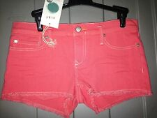New With Tags Womens Roxy Shorts, Orange, Retail $44.50