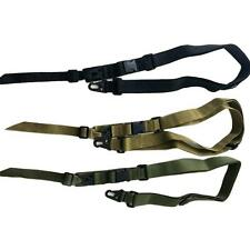 Adjustable 2 Or 3 Point Tactical Rifle Sling Airsoft Paintball Hunting Gun Strap