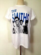 RARE MENS Rock THE SMITHS MORRISSEY SALFORD LADS Burgundy WHITE Tee T SHIRT SML