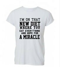 I'm On That New Diet Funny Hipster Tumblr Mens Womens TShirt T-Shirt