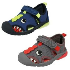 Boys Clarks Doodles First Shoes Beach Curl