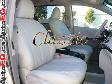 2015-2016 TOYOTA SIENNA 7 PASSENGERS | CLAZZIO LEATHER SEAT COVER (1+2+3 ROWS)