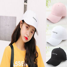 Embroidery Cotton Adjustable Baseball Cap Man Women Snapback Hip Hop Flat Hat