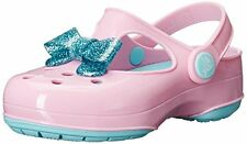 crocs Carlie Glitter Bow Maryjane - K Mary Jane- Choose SZ/Color.