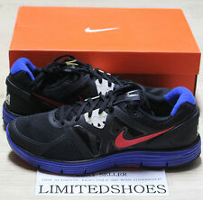 NIKE LUNARGLIDE+ 3 BLACK RED USATF TRACK FIELD 454164-064 city grey blue olympic