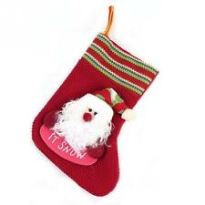 Christmas Stocking Hanging Sock Santa Snowman Deer Christmas Tree Decoration