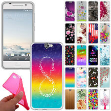 For HTC One A9 Aero TPU Slim Flexible Gel Silicone Rubber Skin BACK Case Cover