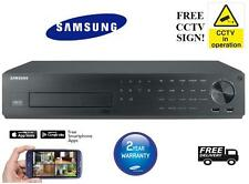 SAMSUNG SRD-880D 8 CHANNEL HD-SDI DVR - 8 CHANNELS FULL HD 1080P REAL TIME RECOR