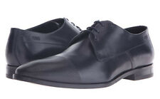 Hugo Boss Mens C-Squader Lace Up Cap Toe Business Casual Oxfords Dress Shoes