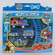 1 Set Cute PAW PATROL Figures Train Track Kids Children Baby Toy Gift Boy Girl