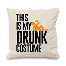 This Is My Drunk Costume Drink Alcohol Beer Pillow Funny Cushion Cover Gift
