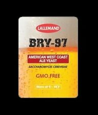 BEER YEAST BRY-97 WEST COAST ALE DANSTAR LALLEMAND BREWERS YEAST BRY97 ONE PACK