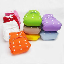 Practical Baby Infant Adjustable Cloth Nappy Soft Cotton Diaper Cover Washable