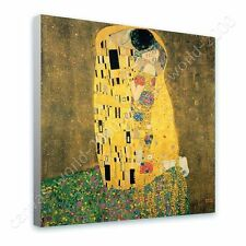 CANVAS +GIFT The Kiss Gustav Klimt Giclee Paints Poster Pictures Wall Decor