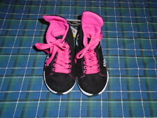 Girls Pink Hockey Slippers Sizes Small - Large