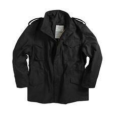 Alpha Industries M-65 Field Coat Black