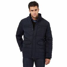 The Collection Mens Navy Quilted Jacket From Debenhams