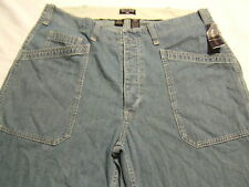 NWT Ralph Lauren POLO JEANS CO Large Pocket Button Fly Jeans 36X34 NEW WITH TAGS