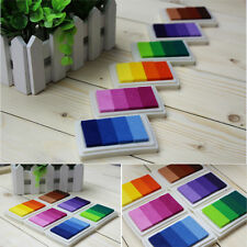 Hot  DIY Craft Cards Making Oil Based Ink Pad Print For Rubber Stamps Paper Wood