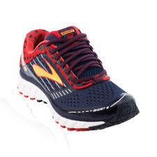 Brooks - Ghost 9 Womens Running Shoe - Red/Blue/Gold
