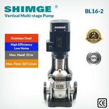 Shimge Stainless Steel Vertical Multi-stage Centrifugal Pump BL16-2
