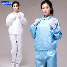 Seagebel ESD-Safe Anti-static LAB Smock Clothes Lab Coat together with Trousers