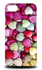 CUTE CHOCOLATE CANDY HEARTS HARD CASE COVER FOR APPLE iPHONE 7