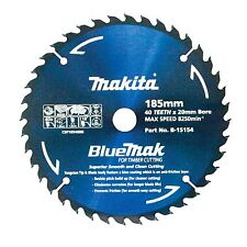 Makita BLUEMAK CIRCULAR SAW BLADE 40 Teeth Smooth & Clean Cutting-185mm or 235mm