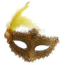Fashion Fancy Dress Feather Lace Eye Mask Masquerade Halloween Party Costume