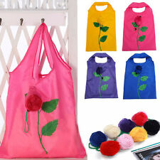 Mixed Eco-friendly Rose Flower Sunflower Shopping Bag Foldable Shopping Bags New