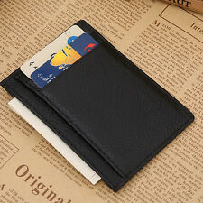 Selling Mens Wallet Money Clip Credit Card Holder ID Business Leather Mini Purse