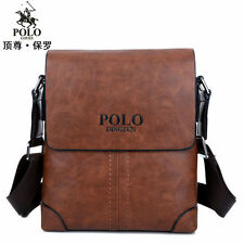 Men's Genuine Leather Handbag Briefcase Laptop Shoulder Bag Messenger Bag Tote
