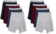 Fruit of the Loom 4EL801B 8-Pack Boys Assorted Boxer Briefs- Choose SZ/Color.