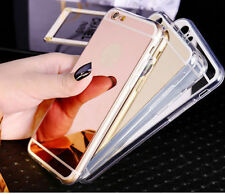 Luxury Tpu Ultra-thin Mirror Acrylic Case Cover for Apple iPhone 5 6 6S 7 7Plus