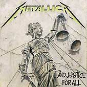 Metallica ... And Justice For All  Cassette Tape Elektra Label Heavy Metal