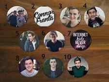 Connor Franta Pinback Buttons